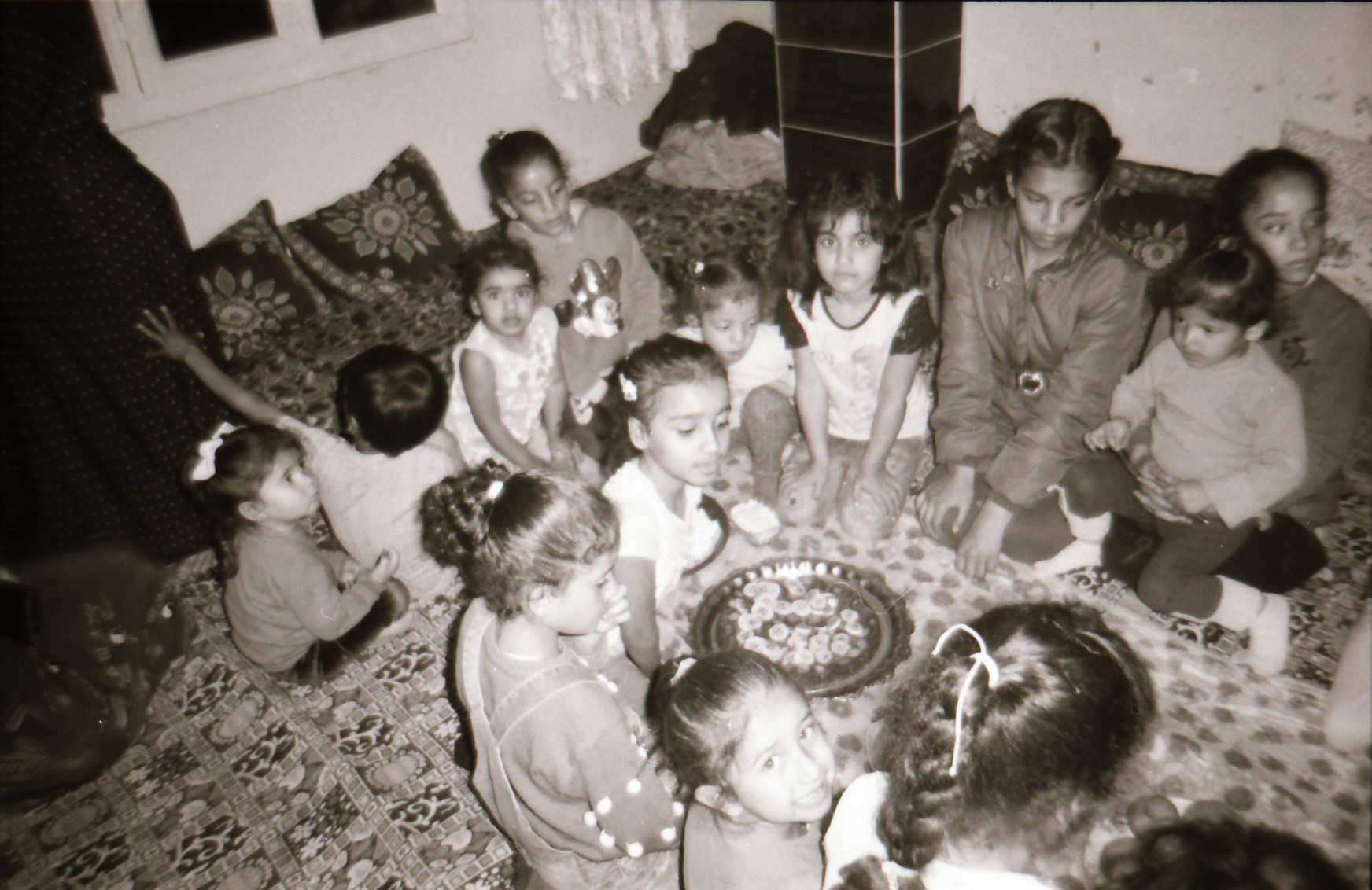 Photo by Zorjin she is 8 years old from Qamilsho Syria ( Birthday party of her friend ) ilford Kentremre 400