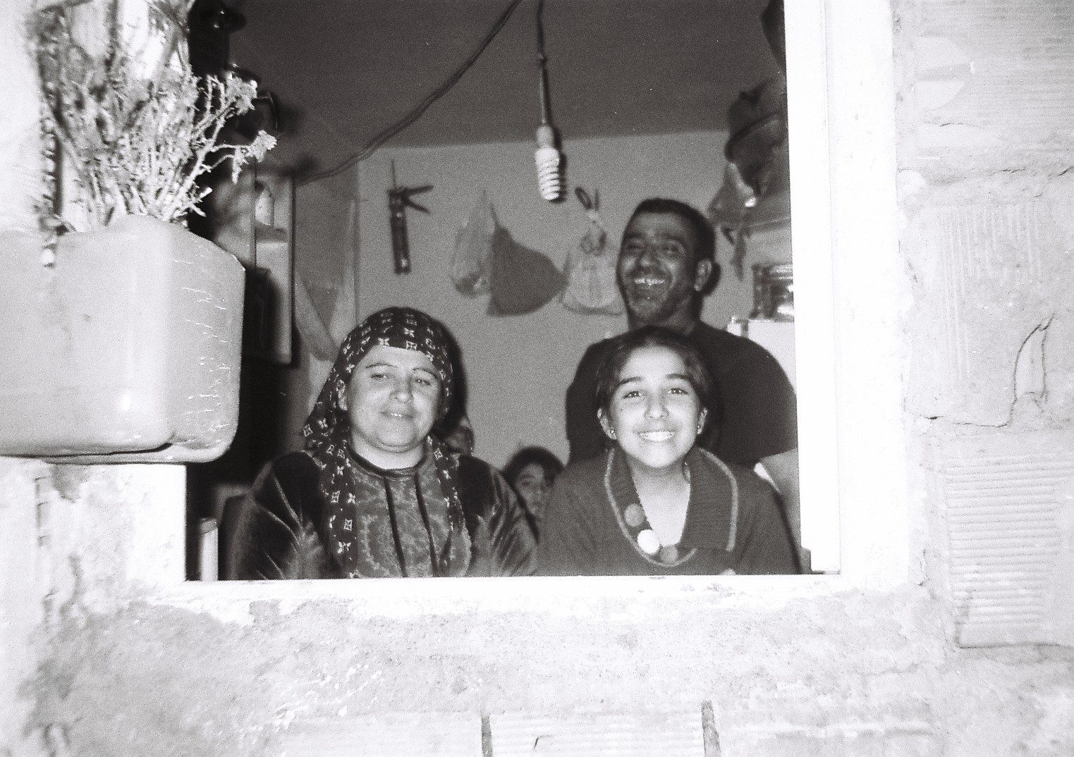 Photo taken by Sevin she is 14 years old from Qamishlo Syria ( Capturing her friend and her family)