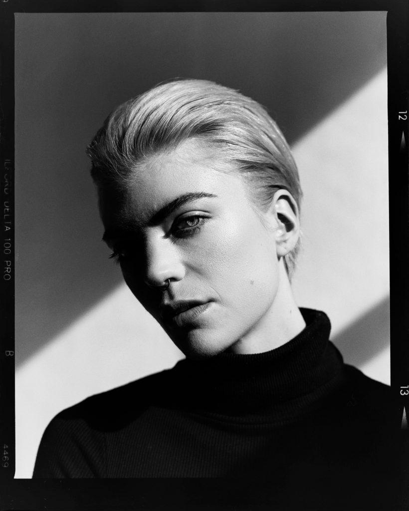 black and white portraits shot on ILFORD film by Craig Fleming