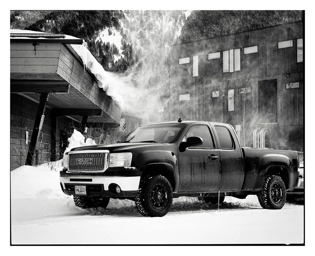 thewarneraesthetic January 24th, 2020 Mamiya 7ii, Ilford Delta 400 #ilfordphoto #fridayfavourites #shotondelta400 #jacksonhole #mamiya7 #winter #analog #analogphotography #blacknwhitephotography #bnwphoto #blackandwhitephoto #believeinfilm #filmisnotdead #shootfilm #instagood #insta #instamood #instapic #carsonfilm #carsofinstagram #trucks #trucksofinstagram