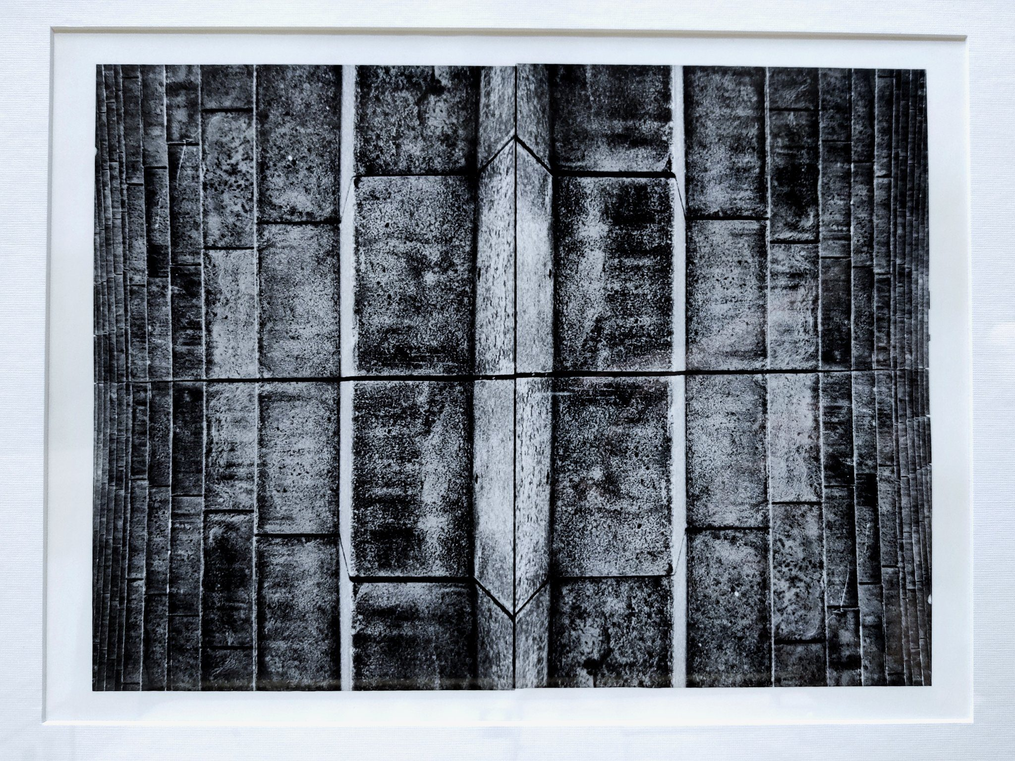 @Virgil_Roger @ILFORDPhoto makes the nicest paper, it was my go-to choice for my first ever hand printed solo show a while back. Let's throwback for the #fridayfavourites! Collages, a composite #fbprint on #ilford classic FB matte paper. #believeinfilm #believeinprint #believeincontrast