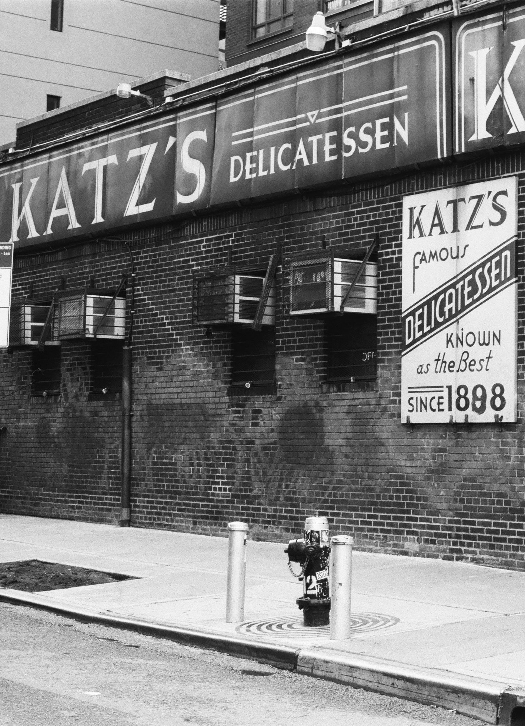 Katz's delie on HP5 Black and white film by Louis Kassam