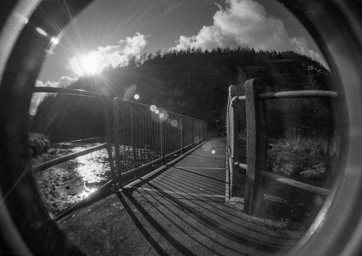 "@timdobbsphoto ""Flare"" .. Lono Fisheye on ilford FP4 for #ilfordphoto #fridayfavourites #lightonfilm #believeinfilm #filmisnotdead"