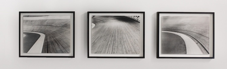 Darkroom prints on the gallery wall Photographer Matt Ben Stone