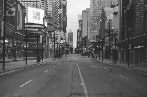 Before and After series image shot on ILFORD black and white film by Brad Freeman
