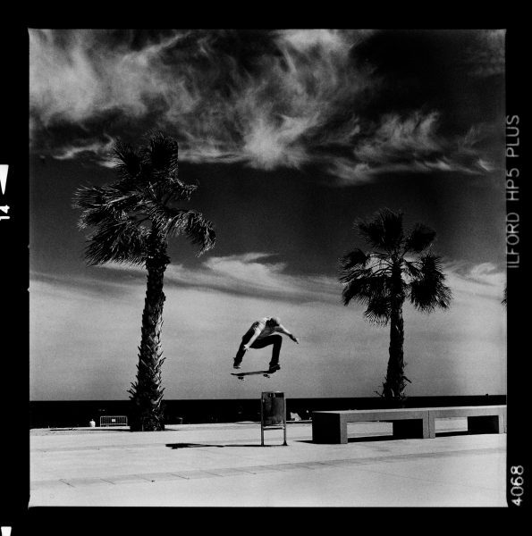 Max-Frion---Switch-Heel-Flip---Barcelona-Spain---Hasselblad-500CM-on-Ilford-HP5-Plus