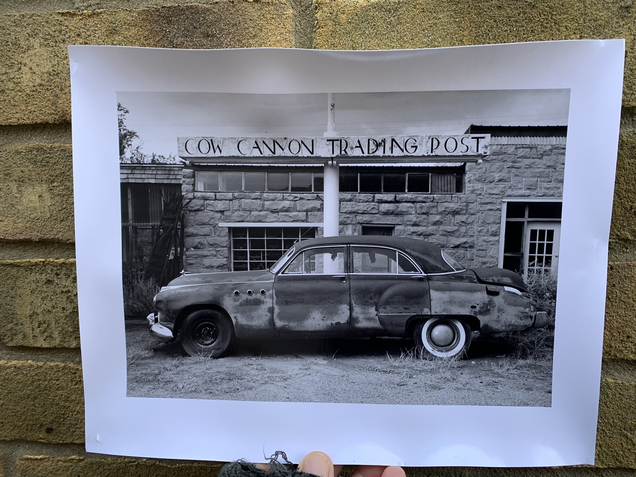 @Warboyssnapper · 2h Replying to @ILFORDPhoto #ilfordphoto #fridayfavourites #printedwithoassion. Ok - straight out of the darkroom , just needs flattening . #FP4 #DDX #USA #GW690ii
