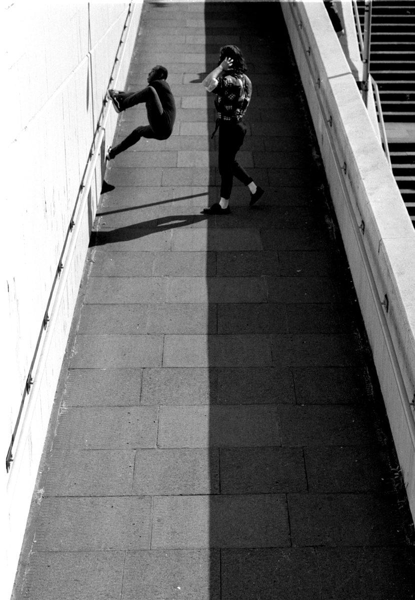 Shot by Simon King on ILFORD PANF PLUS black and white film