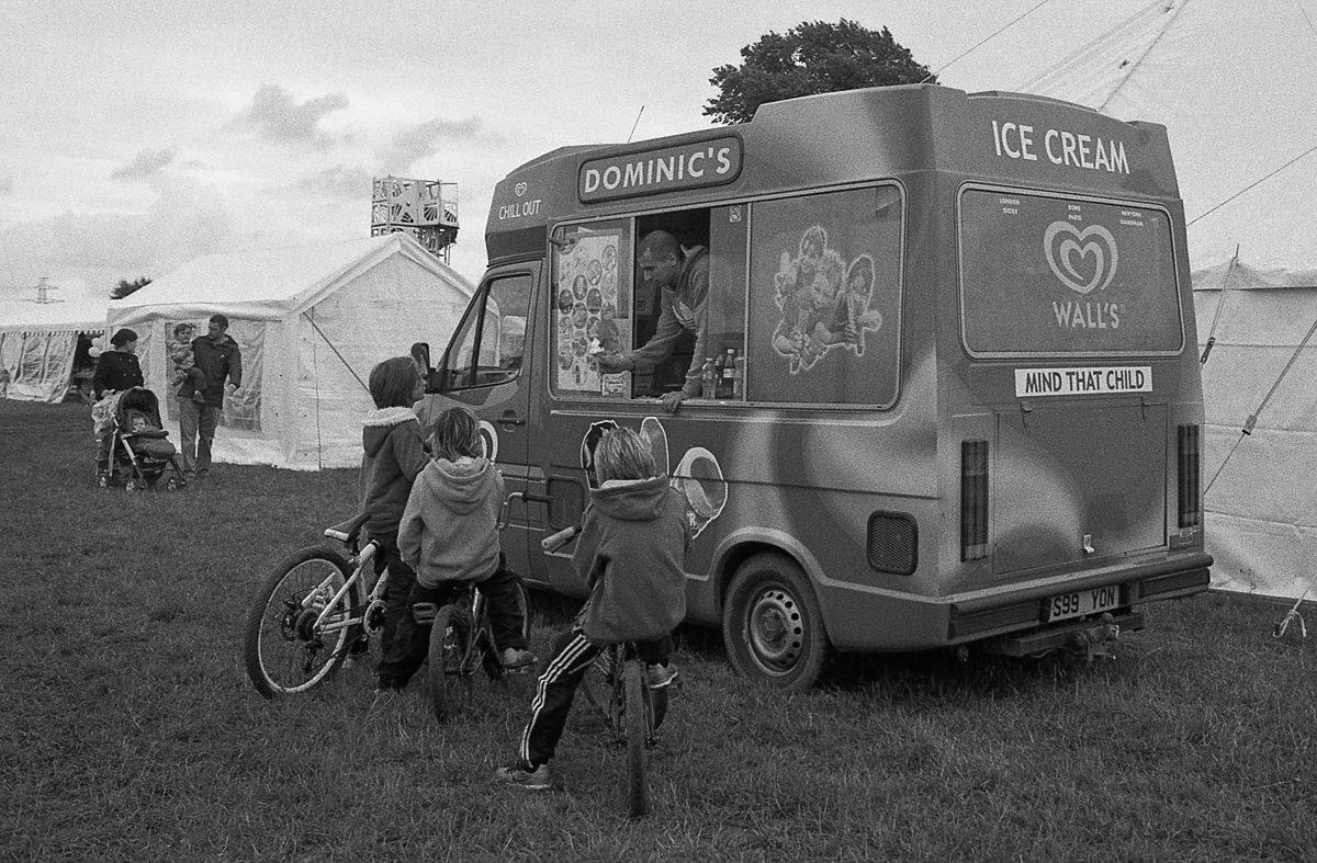 "@timdobbsphoto ""Ice Cream Van"" .. Nikon FM2n on ilford HP5+ always reminds me of my childhood #filmmemories #ilfordphoto #fridayfavourites #believeinfilm"