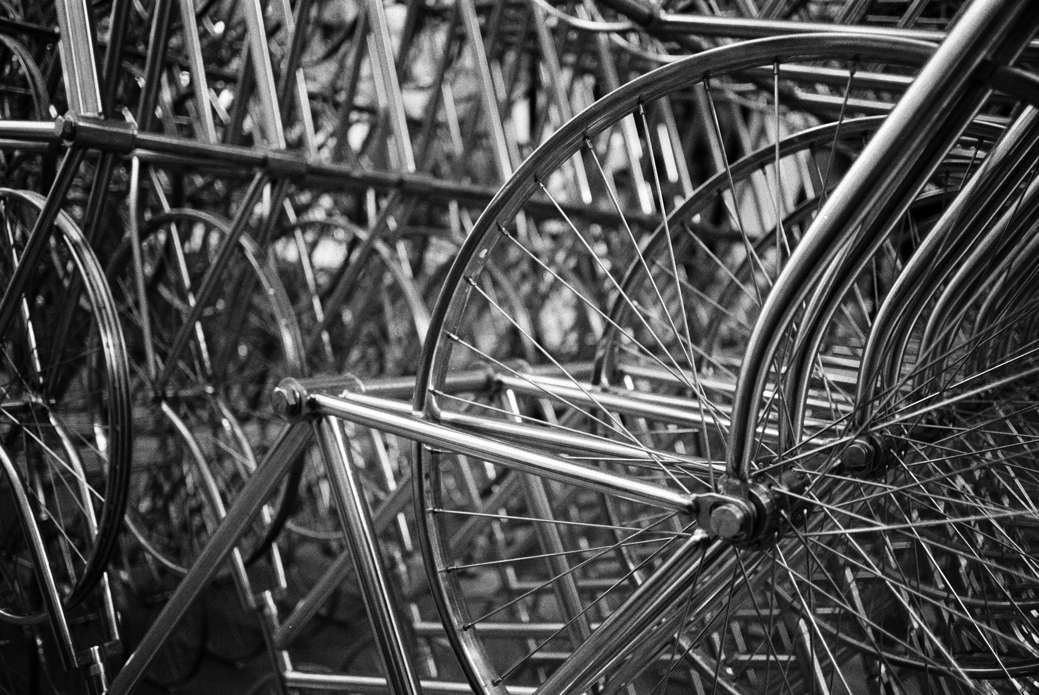 @Givemeabiscuit Wheels. Olympus OM1n. @ILFORDPhoto HP5. #Believeinfilm #35mmhp5 #FridayFavourites